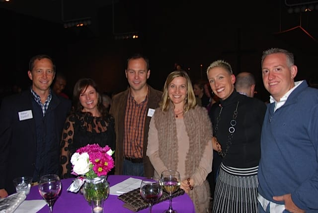 Members of First Presbyterian Church enjoy an evening in support of mission and outreach. Pictured are (from left) Homer Parkhill, Beth Hersam, Brian and Laurel Carlson, Traci and Clem Pascarella.