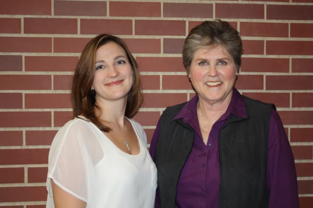 Co-leaders of the Alzheimer's Association-sponsored Caregiver Support Group offered through Waveny LifeCare Network: Waveny social worker, Kate Bacon, MSW and director of Waveny's Adult Day Program, Ilene Sumberg, MSW, LCSW.