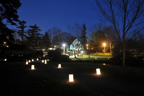 Luminaries will adorn lawns throughout Fairfield County to support Family Centers of Greenwich.