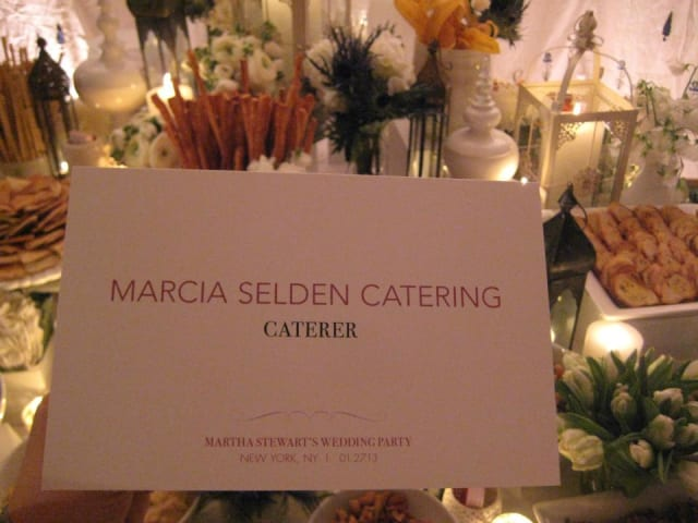Marcia Selding Catering was named the Caterer of the Year by the Connecticut Restaurant Association.