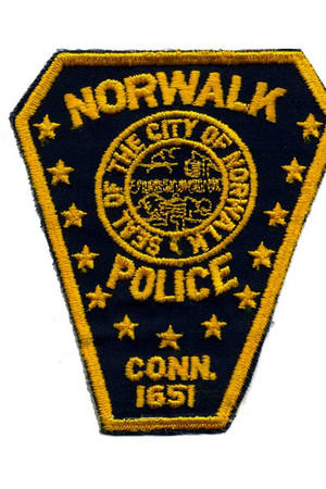 Norwalk police followed a man into Rye, N.Y., early Monday morning after he nearly ran over an officer during a traffic stop, according to police reports.