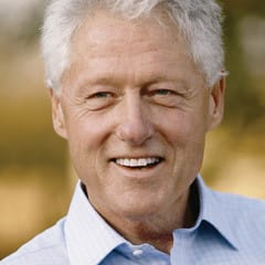 Bill Clinton will swear in Bill de Blasio as the new mayor of New York City on Wednesday, Jan. 1.