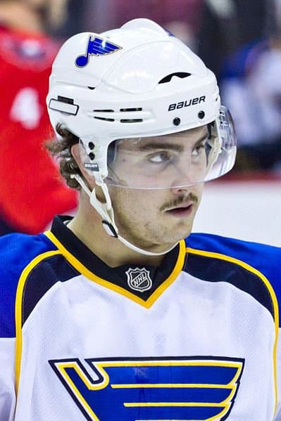 New Rochelle's Kevin Shattenkirk, 24, a defenseman for the St. Louis Blues, will be playing in the Sochi Olympics  that start Feb. 7 and end Feb. 23.