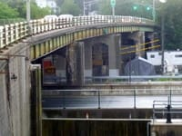 The repair of the Ardsley Bridge over the Saw Mill Parkway and New York Thruway began in 2013 and continues in 2014.