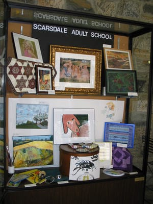The Scarsdale Adult School celebrated its 75th anniversary with numerous events in 2013.