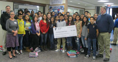 Garden programs in the Port Chester schools received a grant from the Rye YMCA.