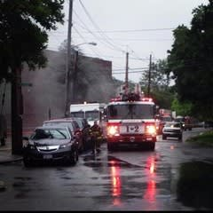 New Rochelle firefighters extinguished an apartment fire on Sunday, Jan. 5.