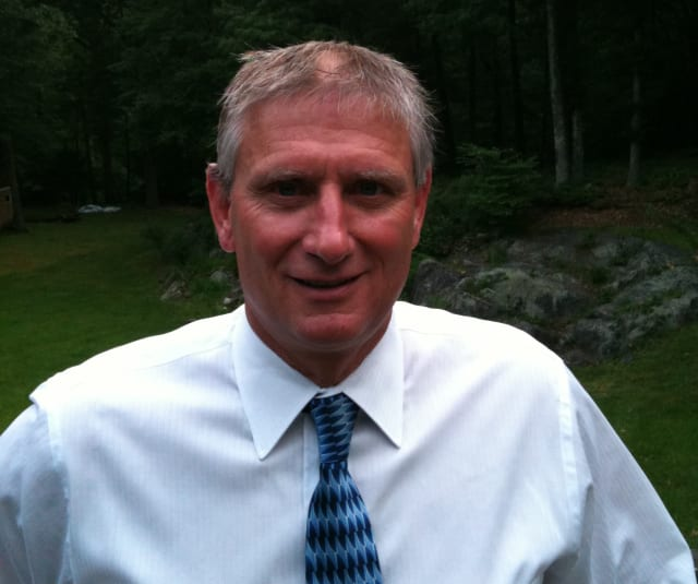 Yorktown Supervisor Michael Grace took his oath of office on Wednesday, Jan. 1.