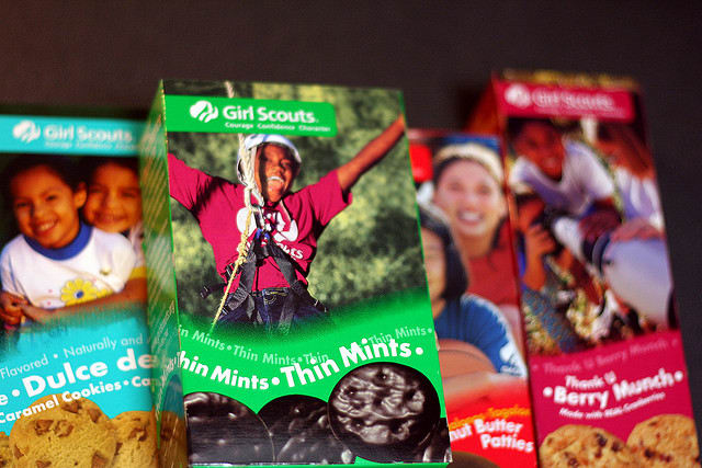 Girl Scouts will once again be out selling cookies to help support local Girl Scout troops.