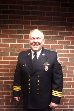 Danbury native James Russell was appointed to be the new Fire Marshal for the city in a ceremony on Wednesday afternoon.
