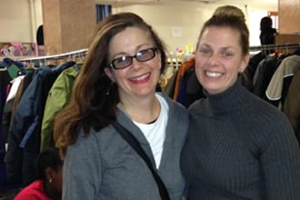 The Junior League of Bronxville's Holiday Coat and Gloves Drive brought in more than 700 coats for Mount Vernon's Community Service Associates.