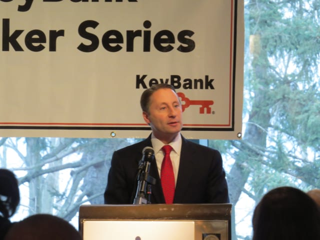County Executive Rob Astorino addresses the Westchester Business Council.