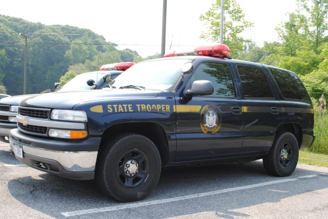 New York State Police arrested three suspects who were riding in a stolen vehicle on Saturday, Jan. 11.