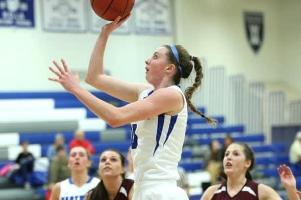 Easton's Brittney Dumas, a sophomore at Hartwick College in New York, earned Empire 8 Women's Basketball Player of the Week honors. She is a graduate of Joel Barlow.