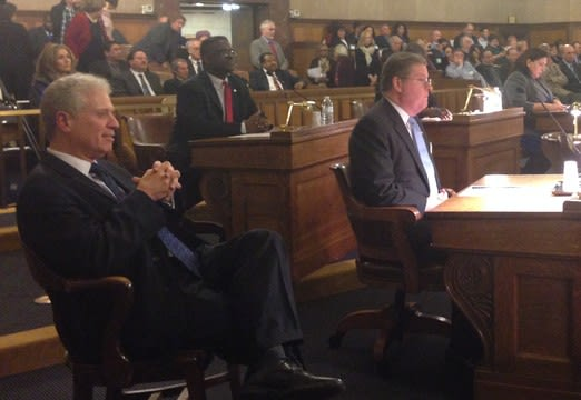 Chairman Michael Kaplowitz, left, recently announced the Board Of Legislators committees for the 2014-15 legislative term.