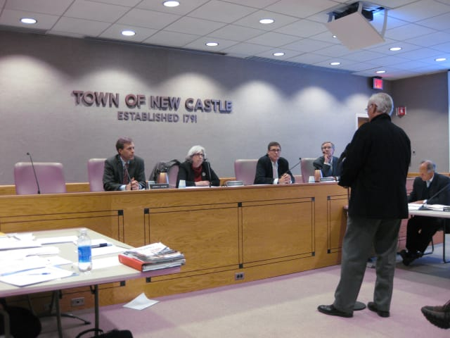 The Town of New Castle is seeking a consultant to gauge public opinion.