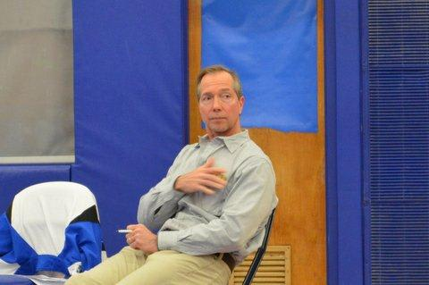 Paul LaVallee has been a part of the Sailor wrestling program for 30 years, 24 of them as head coach of the program.
