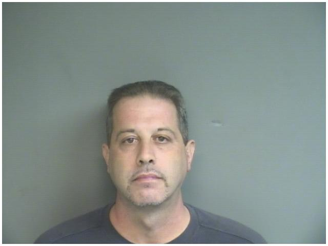 Stamford police charged Frank Pensiero, 42, with first-degree robbery.