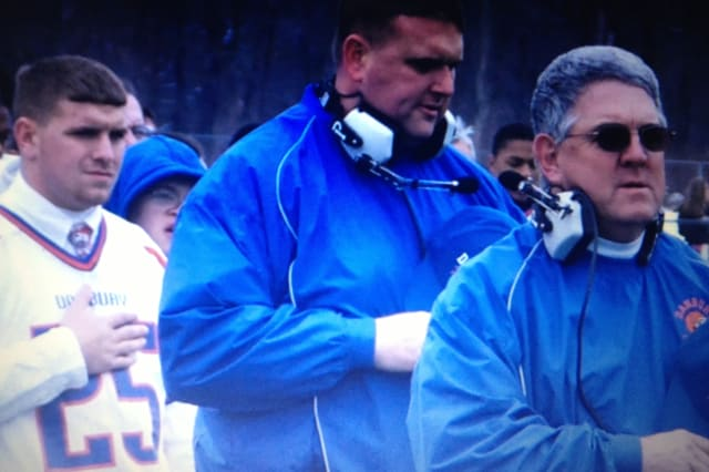 Danbury High School football coach Dan Donovan has resigned from his position.