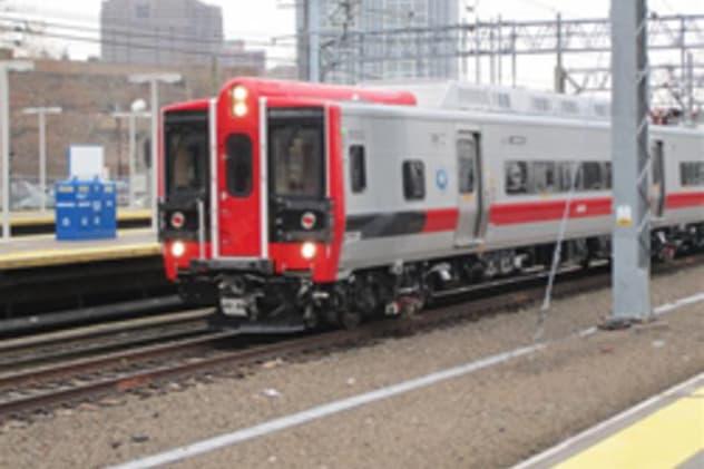A Metro-North train from Grand Central Terminal became disabled in Westport Wednesday night due to a broken catenary wire.