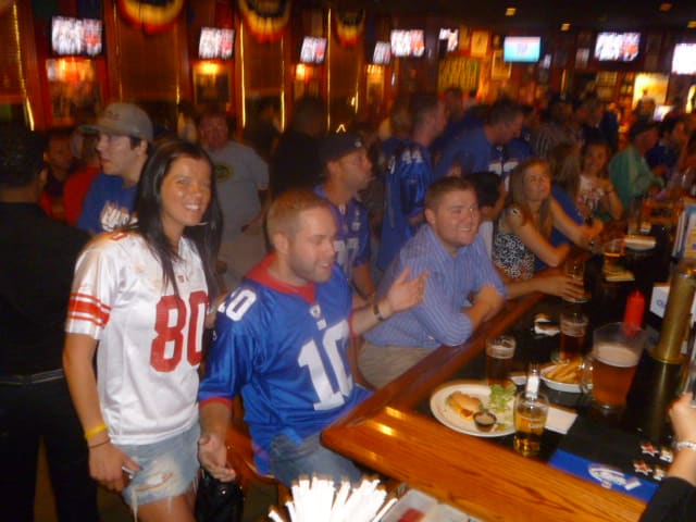Football fans will be watching Super Bowl XLVIII in homes and at sports bars like the Sports Page in White Plains.