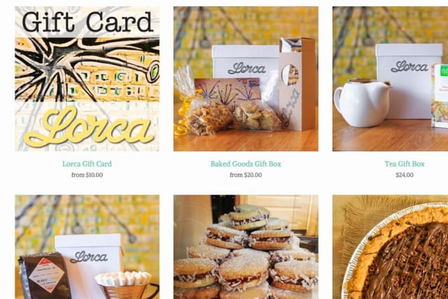 Lorca bakery in Stamford now offers some of its goods online.
