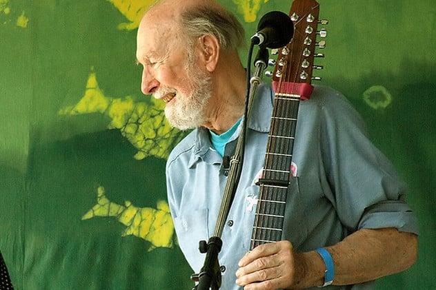 Folk singer Pete Seeger passed away at 94.
