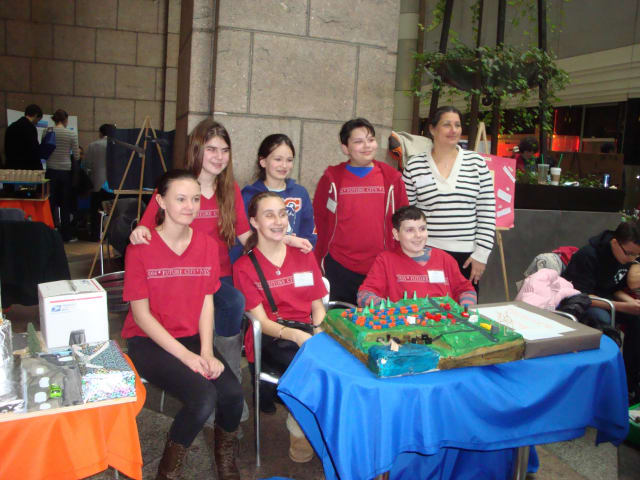 The Briarcliff Middle School Future City Club recently brought home an award from a regional competition in New York City.