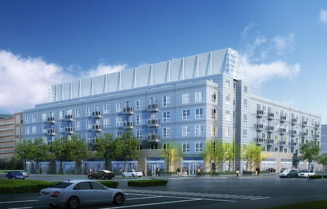 A new apartment complex has opened in Stamford.