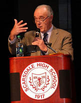 New York Mets broadcaster Ed Coleman will emcee the Scarsdale Library Spelling Bee.