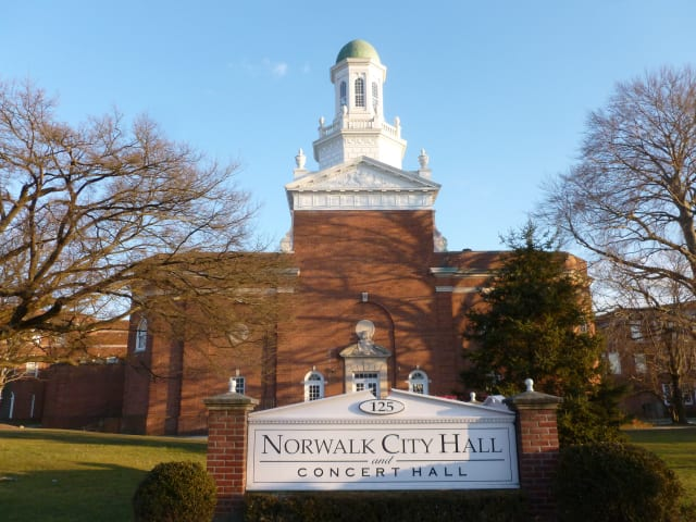 Norwalk City Hall will host a public hearing regarding improvements to the intersection of Route 1 and Route 53.