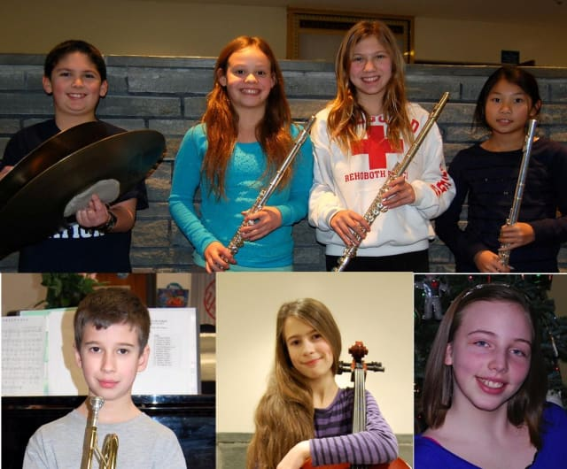 Eastches elementary students named were Stephen DeLotto and Celia Visco. Eastchester Middle School students named were Eleonora Frokic, Chris Tyrrell, Sofia Mottura, Caroline Capuano and Nicole Liao.