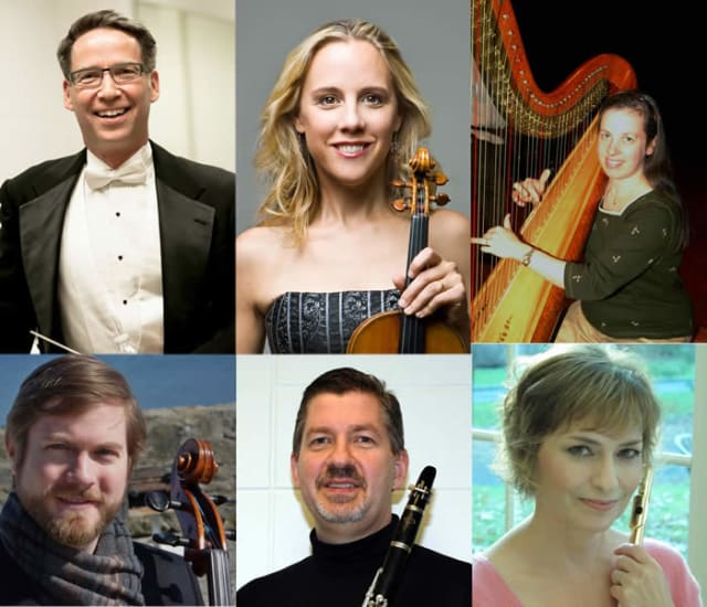 Western Connecticut State University and the Ridgefield Symphony Orchestra will hold concert on Sunday.