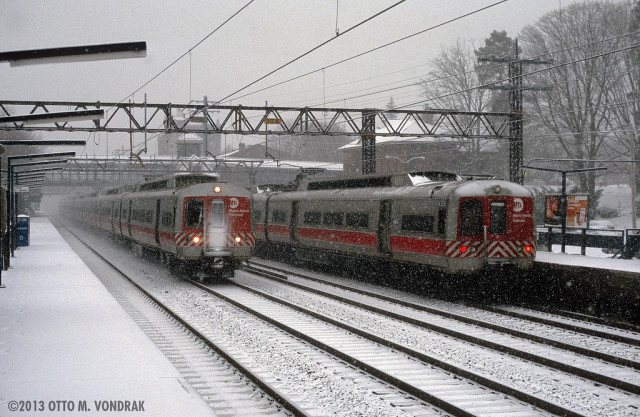 Ice on overhead wires caused several delays and interruptions along Metro-North's New Haven Line on Wednesday.
