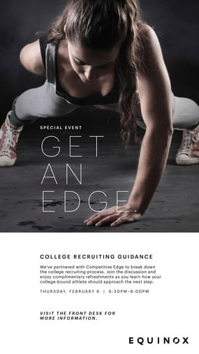 Equinox Darien is hosting panel of coaches, athletes and recruiters to talk about athlete recruiting tips on Thursday, Feb. 6.