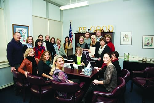 Anne Hutchinson School of Eastchester faculty and staff are praising their principal.