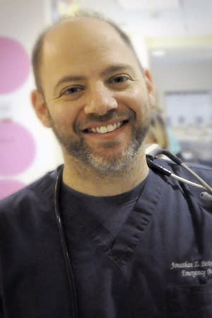 Dr. Jonathan Berkowitz is the Medical Director of Regional Emergency Services and Disaster Medicine at Westchester Medical Center