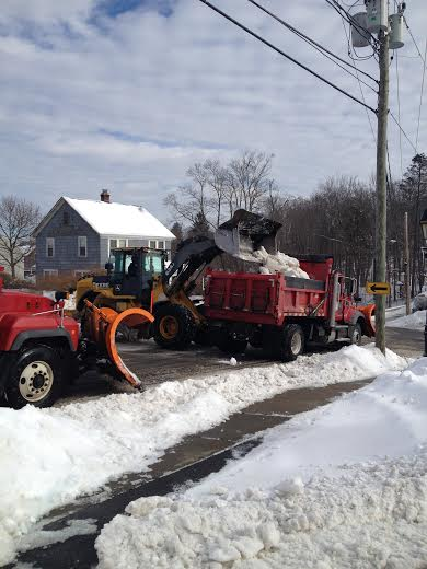Many people are still digging out across Fairfield County from last week's nor'easter and weekend snow.