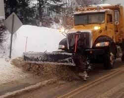Towns and cities mix sand in with salt to add traction and to make the salt last longer.