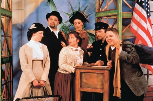 "The Ridgefield Playhouse is set to host ""Ellis Island: Gateway to a Dream"" on Tuesday, Feb. 25."