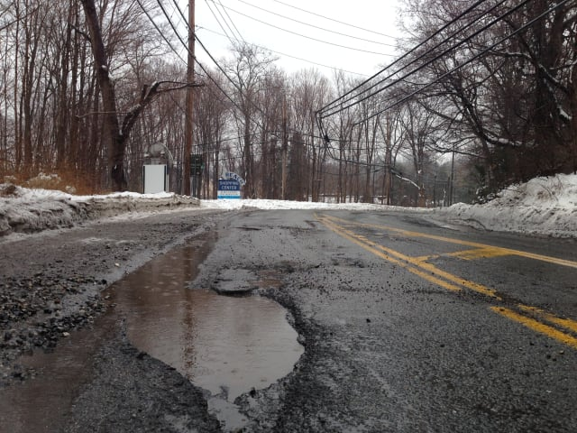 When rain and snow freeze within potholes, the open space expands, further exacerbating the pesky cracks in the road.
