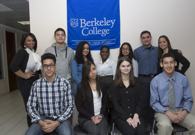 More than 20 Westchester County high school seniors recently earned scholarships to attend Berkeley College.