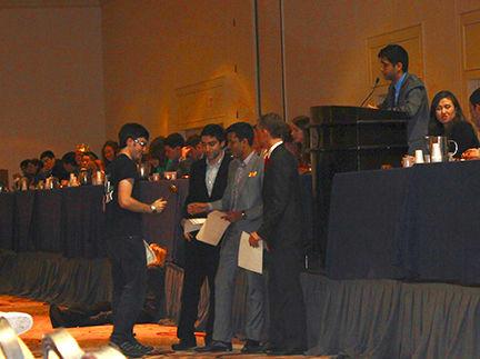 Wooster senior Ben Bratter was named best delegate at the Ivy League Model UN recently.