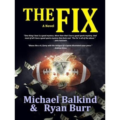 """Michael Balkind, author and Katonah resident, his released his latest book, """"The Fix."""""""