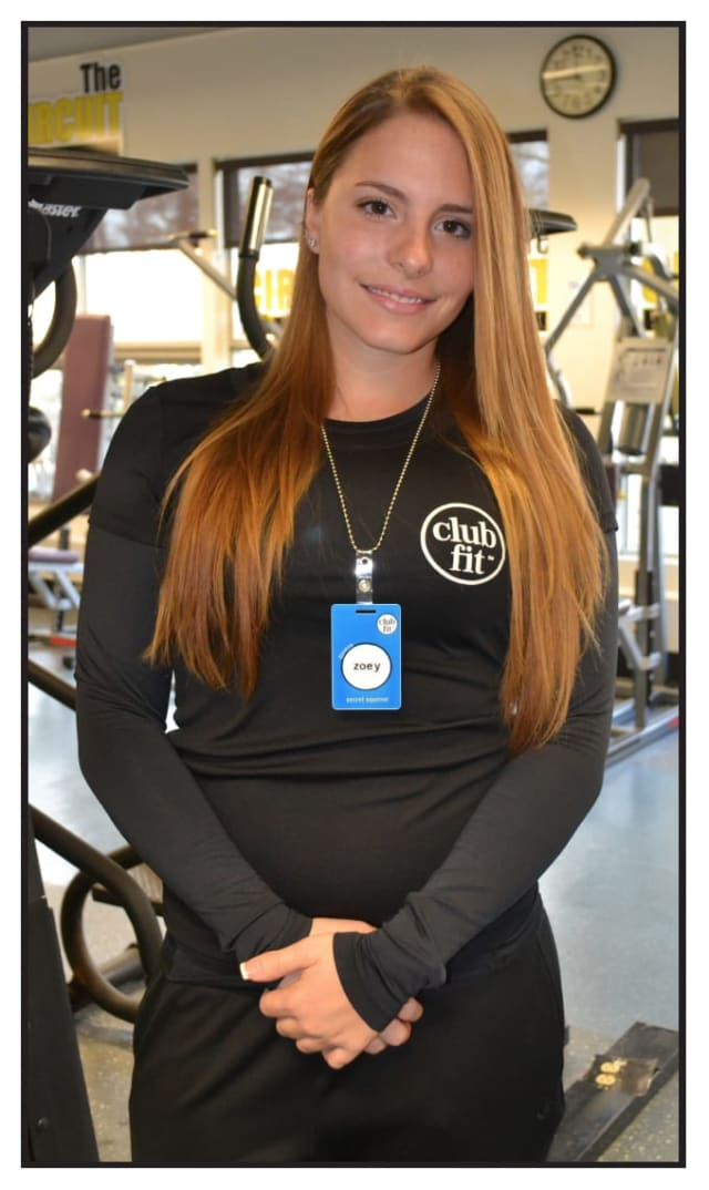 Zoey has been awarded as Personal Trainer of the Month at Club Fit.