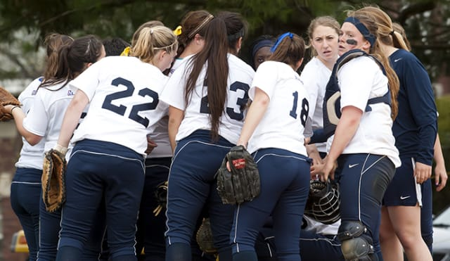 Pace University softball opens its season Sunday.
