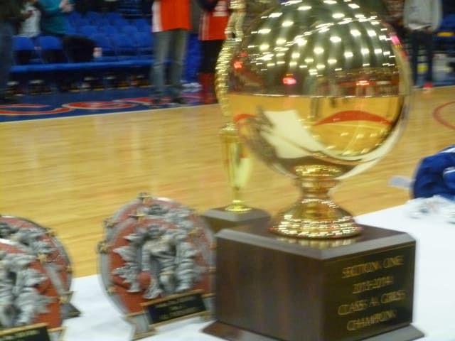 Six Section 1 basketball champion high school teams from Westchester are playing this weekend in state tournament games.