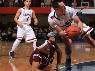 The Eastchester Eagles Sports Club is sending congratulations to the Eastchester Boys Varsity basketball team.