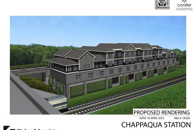 The most recent Chappaqua Station iteration would weigh in at four stories and 28 apartment units.