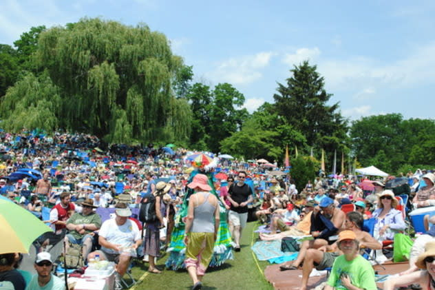 Clearwater Festival reduced its waste by more than nine tons last year.